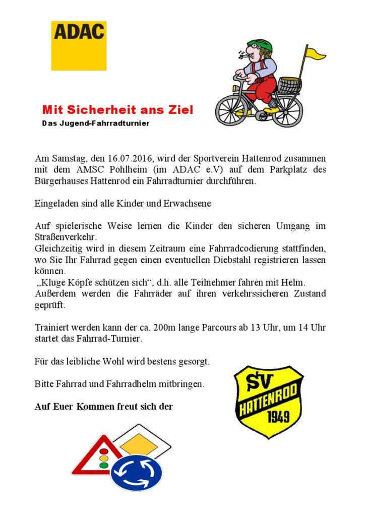 Einladung Fahrradturnier 2016 2